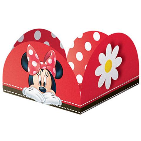 Forminha docinho Minnie Vermelha Festabox