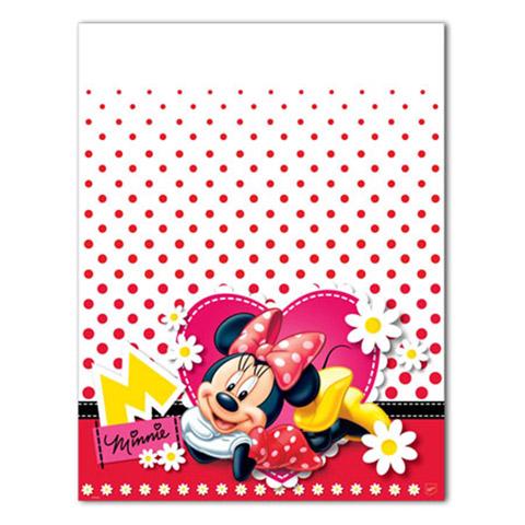 Toalha de Mesa Minnie Vermelha Festabox