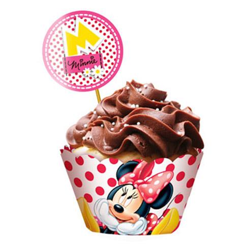 Cupcake Minnie Vermelha Festabox