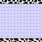 Xadrez Azul e Vaquinha – Kit Completo com molduras para convites, rótulos para guloseimas, lembrancinhas e imagens!