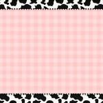 Rosa Xadrez e Vaquinha – Kit Completo com molduras para convites, rótulos para guloseimas, lembrancinhas e imagens!