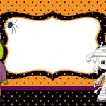 Halloween Menino – Kit Completo com molduras para convites, rótulos para guloseimas, lembrancinhas e imagens!
