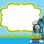 Universidade Monstros – Kit Completo com molduras para convites, rótulos para guloseimas, lembrancinhas e imagens!
