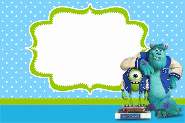 Monsters Inc Baby Shower Invitations for good invitation ideas