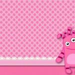 Monstrinho para Meninas – Mini Kit com molduras para convites, rótulos para guloseimas, lembrancinhas e imagens!