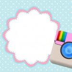 Instagram – Mini Kit com molduras para convites, rótulos para guloseimas, lembrancinhas,imagens e plaquinhas divertidas!