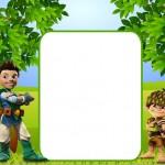 Tree Fu Ton – Mini Kit com molduras para convites, rótulos para guloseimas, lembrancinhas e imagens!