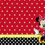 Minnie Vermelha – Kit Completo com molduras para convites, rótulos para guloseimas, lembrancinhas e imagens!