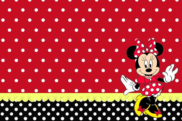 Arquivo Para Minnie Vermelha Fazendo A Nossa Festa