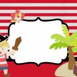 Pirata Menino – Kit Completo com molduras para convites, rótulos para guloseimas, lembrancinhas e imagens!