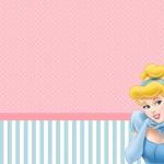 Cinderela – Kit Completo com molduras para convites, rótulos para guloseimas, lembrancinhas e imagens!