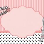 Paris 15 Anos – Kit Completo com molduras para convites, rótulos para guloseimas, lembrancinhas e imagens!