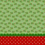 Fundo Natal Verde e Vermelho – Kit Completo com molduras para convites, rótulos para guloseimas, lembrancinhas e imagens!