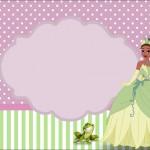 Princesa Tiana(A princesa e o Sapo) – Kit Completo com molduras para convites, rótulos para guloseimas, lembrancinhas e imagens!
