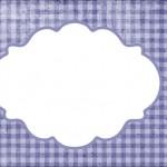 Xadrez Azul e Animais – Kit Completo com molduras para convites, rótulos para guloseimas, lembrancinhas e imagens!