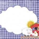 Fazendinha Menino – Kit Completo com molduras para convites, rótulos para guloseimas, lembrancinhas e imagens!