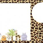Safari – Kit Completo com molduras para convites, rótulos para guloseimas, lembrancinhas e imagens!