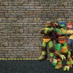 Tartarugas Ninjas – Mini Kit com molduras para convites, rótulos para guloseimas, lembrancinhas,imagens!