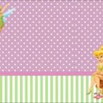Tinker Bell – Kit Completo com molduras para convites, rótulos para guloseimas, lembrancinhas e imagens!