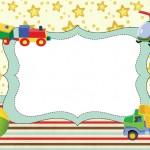 Brinquedos de Meninos – Kit Completo com molduras para convites, rótulos para guloseimas, lembrancinhas e imagens!
