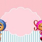 Umizzomi Menina – Kit Completo com molduras para convites, rótulos para guloseimas, lembrancinhas e imagens!