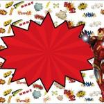Homem de Ferro – Kit Completo com molduras para convites, rótulos para guloseimas, lembrancinhas e imagens!