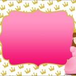 Princesa – Kit Completo com molduras para convites, rótulos para guloseimas, lembrancinhas e imagens!