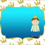 Príncipe – Kit Completo com molduras para convites, rótulos para guloseimas, lembrancinhas e imagens!