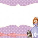 Princesinha Sofia da Disney – Kit Completo com molduras para convites, rótulos para guloseimas, lembrancinhas e imagens!