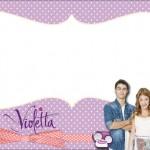 Violetta – Kit Completo com molduras para convites, rótulos para guloseimas, lembrancinhas e imagens!