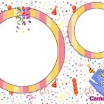 Carnaval – Kit Completo com molduras para convites, rótulos para guloseimas, lembrancinhas e imagens!