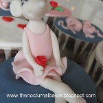 Ideias para Cupcakes da Angelina Ballerina!