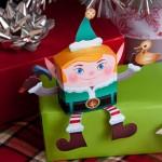 Elfo do Papai Noel – Para Recortar e Montar!