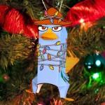 Perry 3D para Enfeitar a Árvore de Natal!