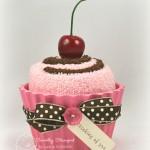 Como Fazer Cupcakes de Toalha!