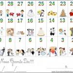 Calendário de Contagem Regressiva para o Casamento!