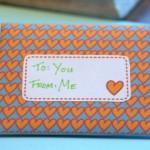 Envelope para o Dia Namorados!