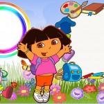 Dora Aventureira – Kit Completo com molduras para convites, rótulos para guloseimas, lembrancinhas e imagens!