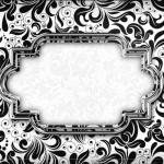 Arabesco Preto e Branco – Kit Completo Digital com molduras para convites, rótulos para guloseimas, lembrancinhas e imagens!