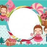 João e Maria Azul Tifany – Kit Completo Digital com molduras para convites, rótulos para guloseimas, lembrancinhas e imagens!