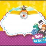 Bita e os Animais – Kit Completo Digital com molduras para convites, rótulos para guloseimas, lembrancinhas e imagens!