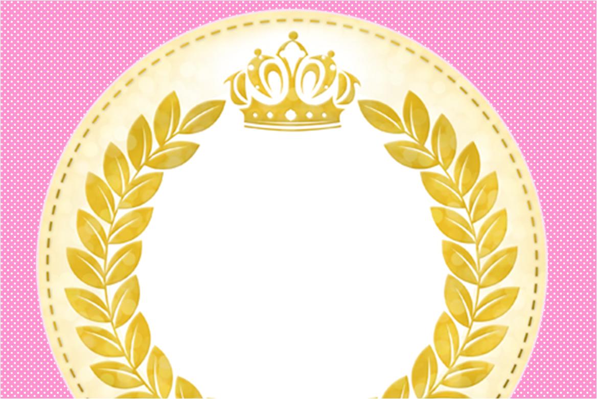 Coroa De Princesa Desenho: Fazendo A Nossa Festa