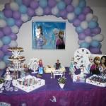 Tema: Frozen – Festa da Leitora Camila Prado Sanches Machado!