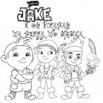 Jake e os Piratas da Terra do Nunca – Imagens para Colorir!