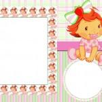 Moranguinho Baby – Kit Completo – Molduras, Convites e Rótulos