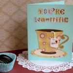 Convite Xícara para Festa do Chá!