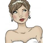 Ilustrações dos Noivos para Convites, Decorações e Lembrancinhas!