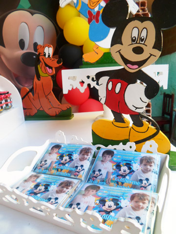 Lembrancinhas Mickey Mouse: