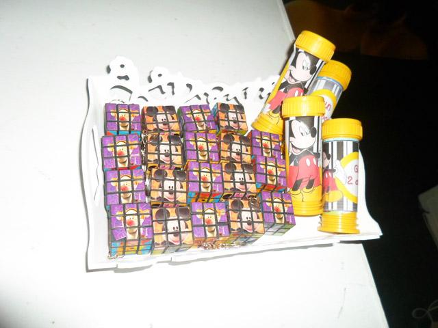 Bolinha de Sabão Mickey Mouse: