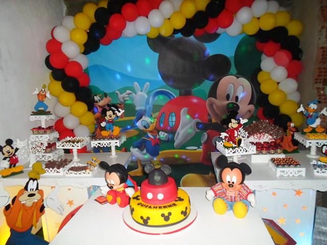 Mesa de Doces Mickey Mouse: